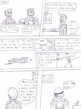 Only Pieces - page 10 by DeadSpaceDAWNcomic