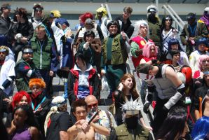 Naruto Gathering: EVERYONE, part 1 by miss-a-r-t
