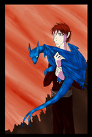 Pern - The Blue Dragon by Wolf-In-The-Walls