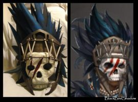GW 2 Tribal Cosplay - Mask by Silantre