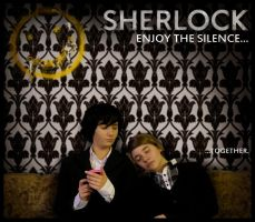 SHERLOCK_enjoy the silence_Illu by XxGogetaCatxX
