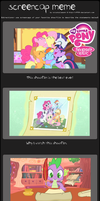 My Little Pony: Friendship is Magic Screencap Meme by SEGASister