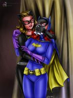 Batgirl Chloroformed (1966 Version) by sleepy-comics