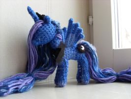 Princess Luna Amigurumi by Blondy1999