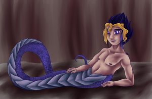 Naga Yugi by ashe-the-hedgehog