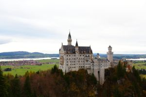Neuschwanstein Castle by Destroth
