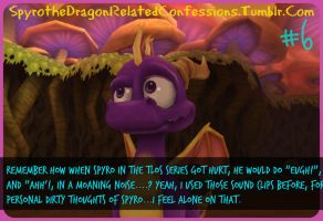 ( Spyro Confessions ) Hot Dragon Sounds by KrazyKari