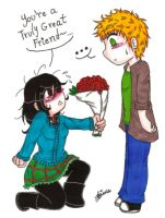 Just Take the Roses! by SweetxAriannaxEngel