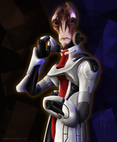 Mordin | 1brush drawing by CPizarro