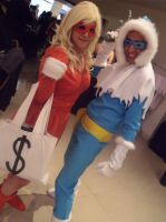 Captain Cold  and Golden Glider by xpholx