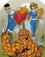The Fantastic Four by mdavidct