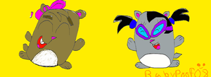 TxT:hamsters by BabyPoof08
