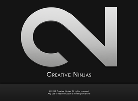 Creative Ninjas Logotype by AndrewBadger