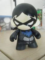 nanananana YJ!Nightwing Munny! by Super-Tofu