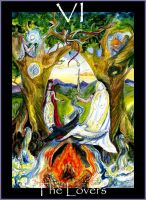 The Lovers- Beltane by Willowsmummy