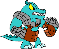 Core Croc Skylander by Blackrhinoranger