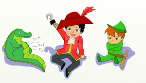 Peter pan playpin by clipchip