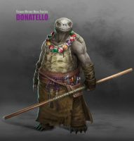 Donatello by Ancorgil