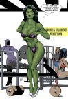 She-Hulk In The Gym by co4