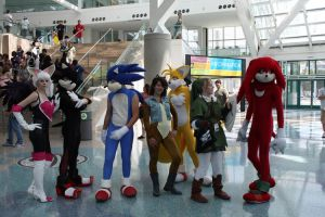 Sonic the Hedgehog group by Vic-Evo-X