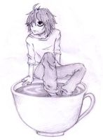 Lawliet's Tea Cup by thehobosapien