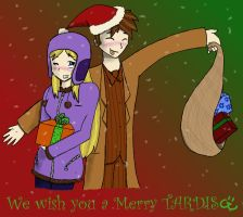 We Wish You a Merry TARDIS... by InvaderJes11