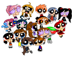 .:PPG OC Group Pic:. by Natsumi-chan0wolf