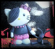 emo kitty by prok-art