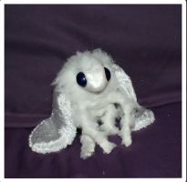Tiffa the Plush Poodle Moth by Sovriin