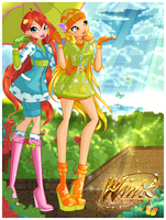 Cover of Winx Club Forum Magazine April by alamisterra