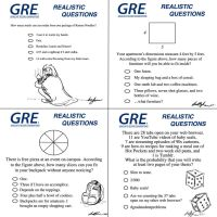 GRE Realistic Questions by morphmaker