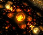 Galaxies of Flame by Dr-Pen