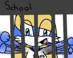 School lock-down by MitsumiRobertsHedgie