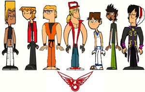 The King of Total Drama Fighters Group 3 by ThunderFists1988