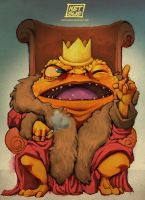 Todd The King Toad by KetsuoTategami