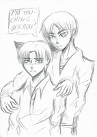 Ereri [unfinished] by LacriChan