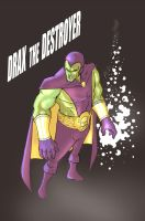 Drax the Destroyer by jdcunard