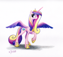 Princess Cadance by SynCallio
