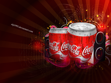 Coca Cola Can by elp1993