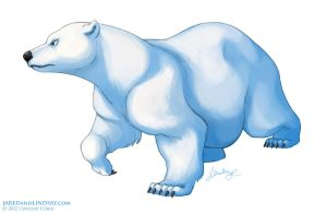 Ice Bear by LCibos