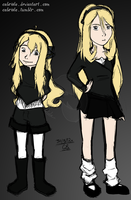 10 to 13 Year Old Cynthia Comparison by Cabriola