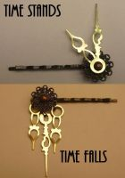 Steampunk Bobby Pins by pervyyaoifancier