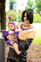 Lulu and Vidina | Final Fantasy X by Tarapotamus