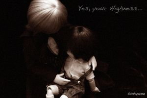 Yes your Highness by wawa-station