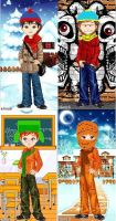 south park candy doll boys by NOODLE101084