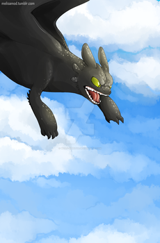 Toothless by Wolf-Spirit99