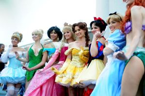 Princesses III All Grown Up by nikon373
