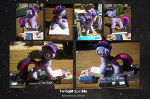 MLP: FiM- Twilight Sparkle Plush by shillermetimbers