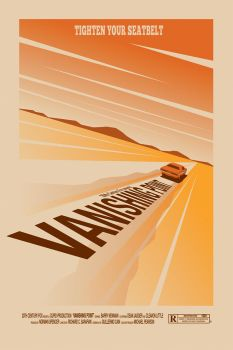 Vanishing Point movie poster by OllieBoyd
