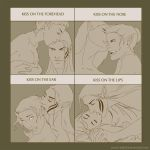 Cute kisses with Zevran by rooster82